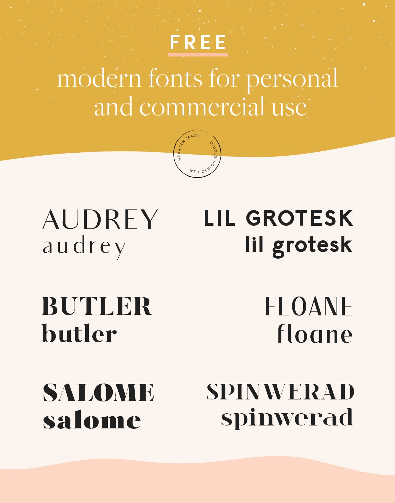 Free Modern Fonts for Commercial Use