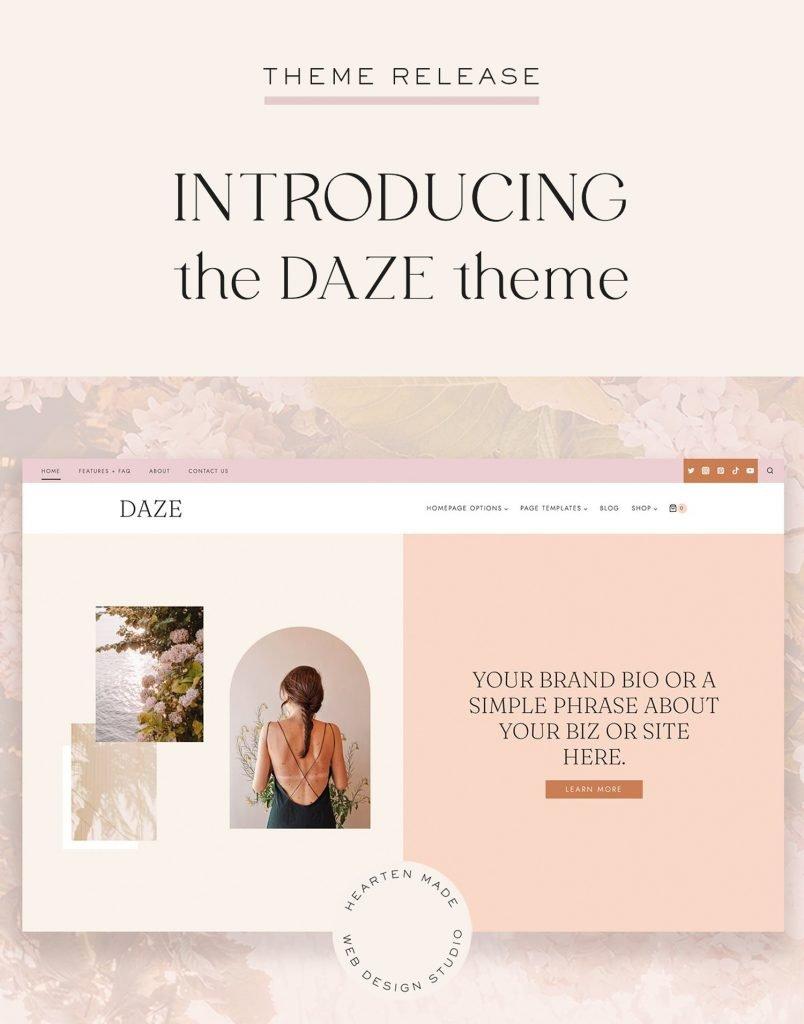 Introducing: The DAZE Theme