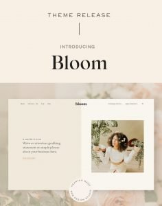 Introducing: The Bloom WordPress Theme