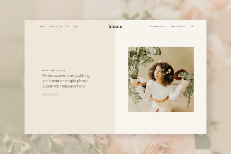 hearten made wordpress theme bloom