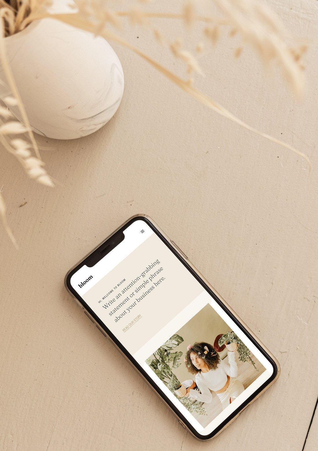 Femine WordPres Theme Bloom MobileResponsive