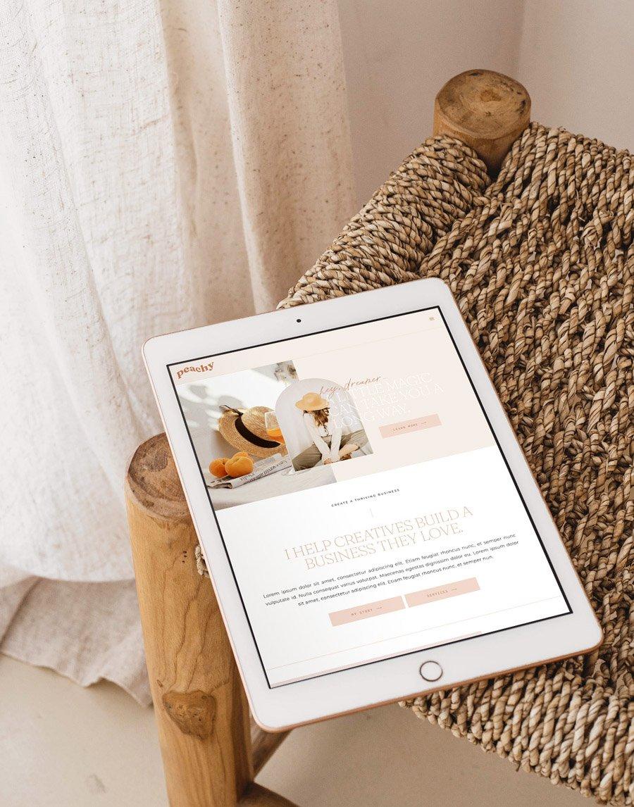 Introducing: The Peachy WordPress Theme